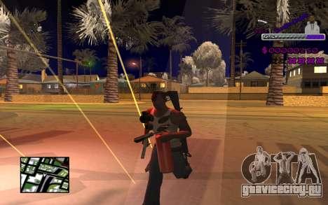 С-HUD Ghetto для GTA San Andreas третий скриншот