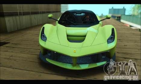 Ferrari LaFerrari 2014 для GTA San Andreas вид справа