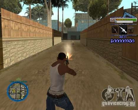 C-HUD by Rifa для GTA San Andreas четвёртый скриншот