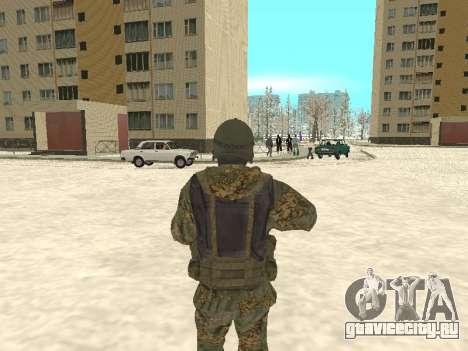 Спецназ МВД для GTA San Andreas второй скриншот