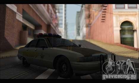 Chevrolet Caprice 1991-1993 RCSD для GTA San Andreas