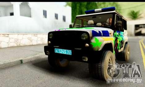 УАЗ 315195 Хантер для GTA San Andreas
