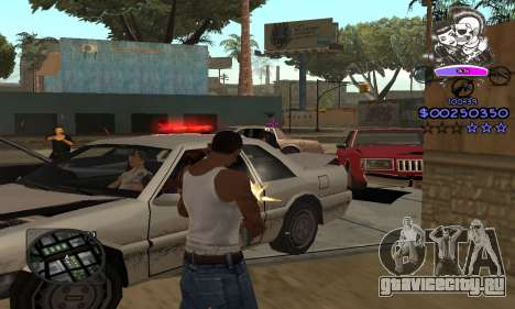 C-HUD Skillet для GTA San Andreas четвёртый скриншот