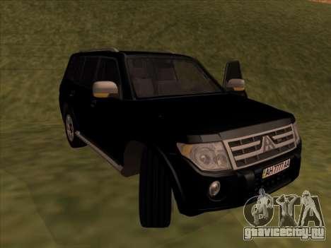 Mitsubishi Pajero для GTA San Andreas вид слева