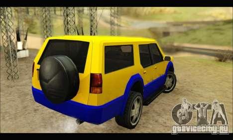 New Landstalker для GTA San Andreas вид сзади слева