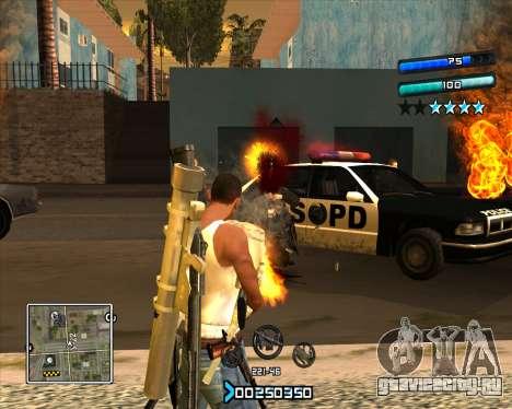 C-HUD Super Cull для GTA San Andreas второй скриншот