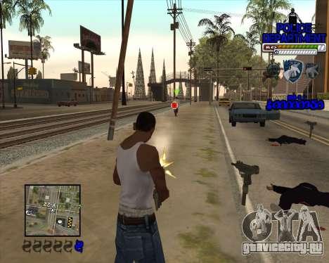 PD HUD для GTA San Andreas