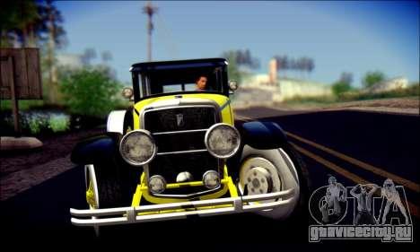 Albany Roosevelt (GTA V) для GTA San Andreas вид сверху