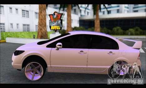 Honda Civic Korea Style для GTA San Andreas вид слева