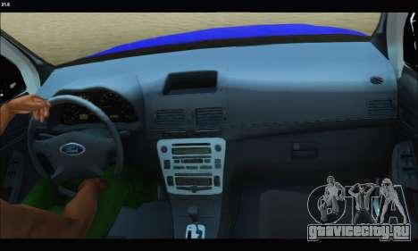 Ford Ranger P.B.A 2015 Text2 для GTA San Andreas вид справа