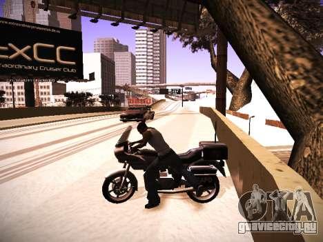 ENB v.14 для GTA San Andreas третий скриншот