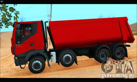 Iveco Trakker 2014 Tipper (IVF & ADD) для GTA San Andreas