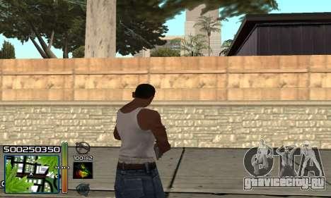 С-HUD RastaMan для GTA San Andreas третий скриншот