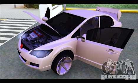 Honda Civic Korea Style для GTA San Andreas вид справа