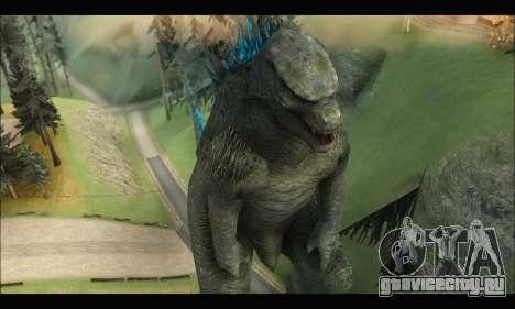 Godzilla 2014 для GTA San Andreas третий скриншот