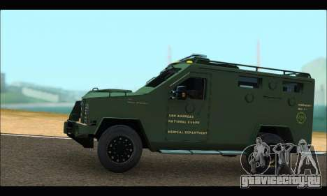 Lenco Bearcat SANG MedEvac 2009 для GTA San Andreas