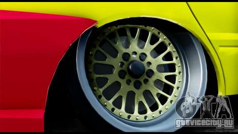 Mitsubishi Lancer Evo 9 для GTA San Andreas вид сзади слева