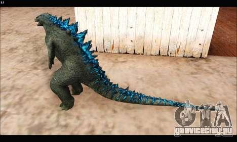 Babyzilla 2014 (Godzilla) для GTA San Andreas третий скриншот