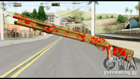 Combat Shotgun with Blood для GTA San Andreas