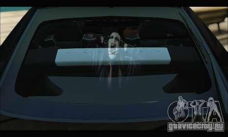 Nissan 350Z Rock для GTA San Andreas вид изнутри
