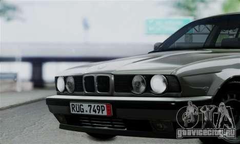 BMW 525 E34 Rims для GTA San Andreas вид справа