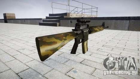 Винтовка M16A2 [optical] flora для GTA 4 второй скриншот