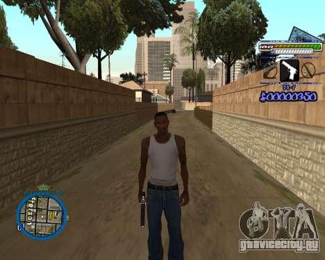 C-HUD by Rifa для GTA San Andreas третий скриншот