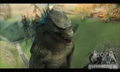 Godzilla 2014 для GTA San Andreas четвёртый скриншот