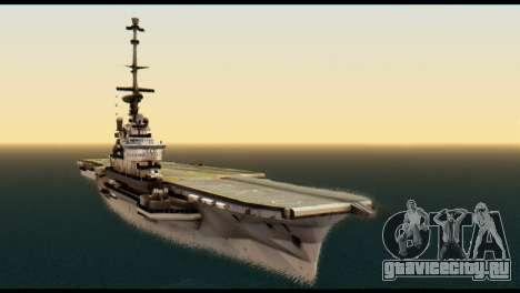 Colossus Aircraft Carrier для GTA San Andreas