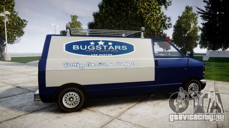 Declasse Burrito Bugstars для GTA 4 вид слева