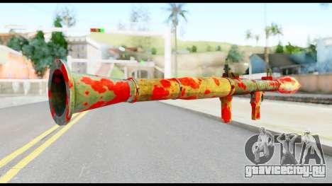 Rocket Launcher with Blood для GTA San Andreas второй скриншот