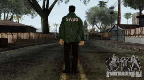 Police Skin 1 для GTA San Andreas второй скриншот