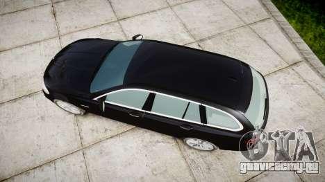 BMW 525d F11 2014 Facelift Civilian для GTA 4 вид справа