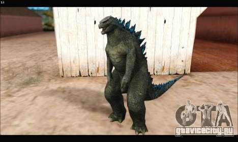 Babyzilla 2014 (Godzilla) для GTA San Andreas второй скриншот