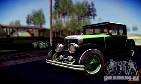 Albany Roosevelt (GTA V) для GTA San Andreas вид сзади слева