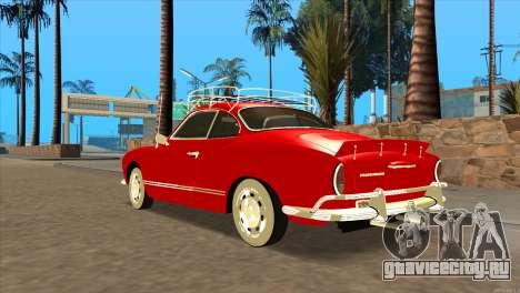 Volkswagen Karmann Ghia для GTA San Andreas