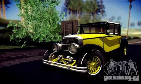 Albany Roosevelt (GTA V) для GTA San Andreas вид сбоку
