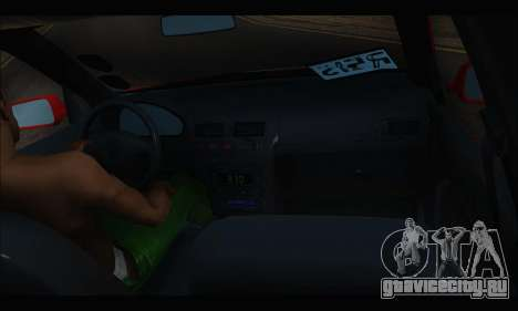 Volkswagen Bora для GTA San Andreas вид сзади