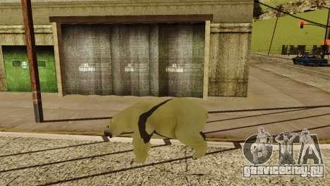 Возможность из GTA V играть за животных для GTA San Andreas девятый скриншот