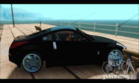 Nissan 350Z Rock для GTA San Andreas вид сзади слева