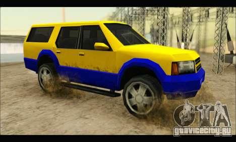 New Landstalker для GTA San Andreas вид слева
