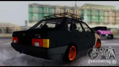 Lada 21099 Rat Look для GTA San Andreas вид слева