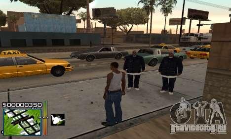 С-HUD RastaMan для GTA San Andreas второй скриншот