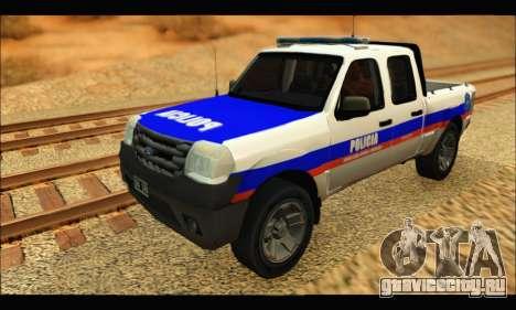 Ford Ranger 2011 Policia Bonaerense для GTA San Andreas