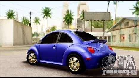 Volkswagen New Beetle для GTA San Andreas вид слева
