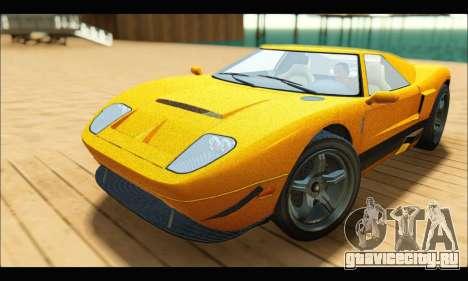 Vapid Bullet Gt (GTA V TBoGT) для GTA San Andreas
