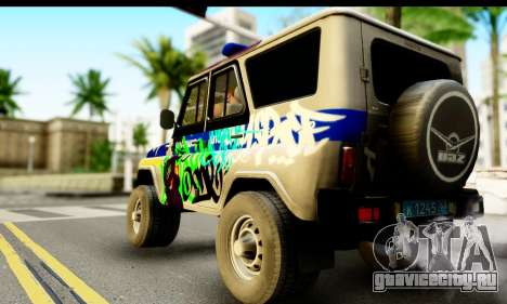 УАЗ 315195 Хантер для GTA San Andreas вид слева