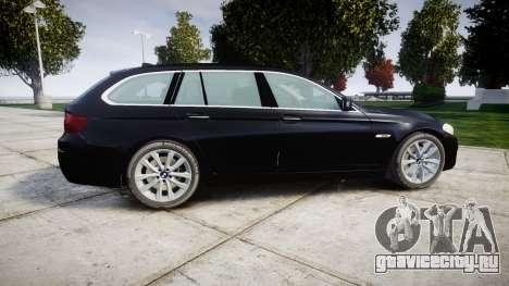BMW 525d F11 2014 Facelift Civilian для GTA 4 вид слева