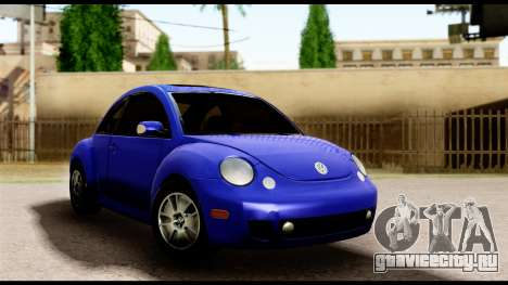 Volkswagen New Beetle для GTA San Andreas