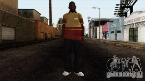 GTA 4 Skin 90 для GTA San Andreas